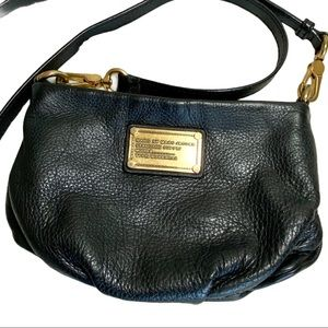 Marc Jacobs Classic Q Crossbody Black Leather Bag